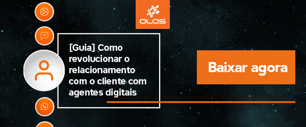 Baixe agora o nosso Guia do Relacionamento com o Cliente e saiba como implementar agentes digitais em sua empresa.